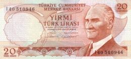 TURKEY 20 TURK LIRASI L.1970 (1983) P-187b UNC SIGN. 28 [TR264f] - Turkey