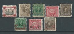 Belgique:179/ 181 + 184/ 186 + 188/ 189 Obli/ * - Belgique