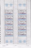 TAAF 1981 Antares / Ship 1v Sheetlet  (unfolded)  ** Mnh (TA131D) - Luchtpost