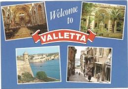 R1420 Malta - Welcome To Valletta - Panorama / Non Viaggiata - Malta