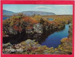 Post Card Of  Pingvellir, Bláskógabygg,Iceland..,Posted With Stamp,W16. - Iceland