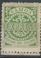 Samoa - Yvert N°7 (*)   ABC6202 - Samoa (Staat)