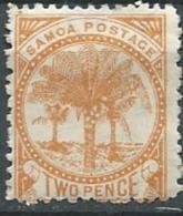Samoa  - Yvert N°12 B (*) ABC6215 - Samoa (Staat)