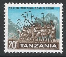 Tanzania. 1965 Definitives. 20c MH. SG 131 - Tanzania (1964-...)