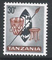 Tanzania. 1965 Definitives. 30c MH. SG 132 - Tanzania (1964-...)