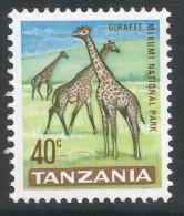 Tanzania. 1965 Definitives. 40c MH. SG 133 - Tanzania (1964-...)