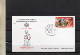 2077  1998FDC MONACO  SPORTS FOOBALL   TIMBRE    N° YVERT ET TELLIER   2126  1997 - FDC