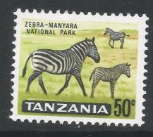 Tanzania. 1965 Definitives. 50c MH. SG 134 - Tanzania (1964-...)
