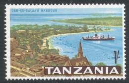 Tanzania. 1965 Definitives. 1/- MH. SG 136 - Tanzania (1964-...)