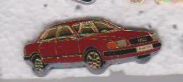 Pin's AUDI ROUGE - Audi