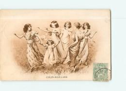 Jeu De COLIN MAILLARD - Belle Carte Publicité Chicorée La Belle Jardinière - C. Bériot à LILLE - 2 Scans - Cartes Postales