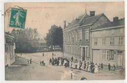 SERMAIZE LES BAINS Rue Bénard Une Noce Animée - Sermaize-les-Bains