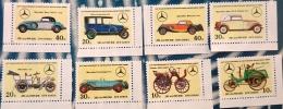 COREE DU NORD Automobiles, Voitures, Cars, Coches, MERCEDES BENZ. MICHEL Serie 1816 **. MNH. Dentelé, Perforate - Auto's