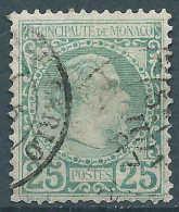Monaco - 1885 - Charles III - N° 6  -  Oblitéré - Used - Monaco