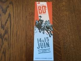 Marque Page Festival Bd Lyon - Marque-Pages