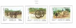 Laos  MNH  1996  Carts - Laos