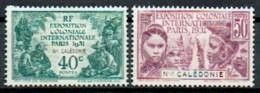 Neukaledonien 1931 Exposition Coloniale Paris Yvert 162-63 MH - New Caledonia