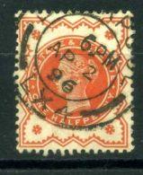 GRANDE-BRETAGNE ( POSTE ) : Y&T  N°  91 , TIMBRE  TRES  BIEN  OBLITERE , A  VOIR . - 1840-1901 (Viktoria)