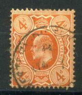 GRANDE-BRETAGNE ( POSTE ) : Y&T  N°  122 , TIMBRE  TRES  BIEN  OBLITERE , A  VOIR .