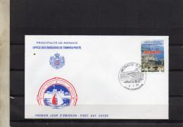 2077  1998FDC MONACO   JEUNE CHAMBRE ECONOMIQUE  TIMBRE    N° YVERT ET TELLIER   2157  1998 - FDC