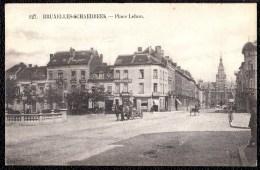 BRUXELLES SCHAERBEEK - SCHAARBEEK - PLACE LEHON -  Attelage - Coiffeur - --- Rare !! - Schaarbeek - Schaerbeek