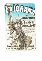 Cpsm - DIORA%A Jardin Des Tuilerie Statue De La Liberté Rade NEW YORK - Oeuvre Union Franco Américaine Billet 1878 - Sculptures