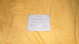 CARTE D'INVITATION DE 1940. / SOIREE DANSANTE VOLONTAIRES FRANCAIS AU STUDIO CLUB LONDRES. - Tickets D'entrée