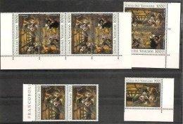 1994 Vaticano Vatican TINTORETTO  NATALE 3 Serie Di 3v. MNH** - Natale