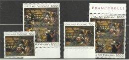 1994 Vaticano Vatican TINTORETTO  NATALE 2 Serie Di 3v. MNH** - Natale