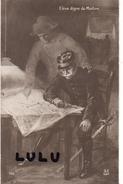 MILITARIA : élève Digne Du Maitre (  Napoléon Montrant Un Endroit Sur Une Carte  A Un Officier) - Heimat