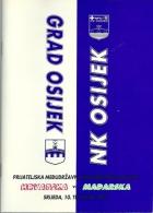 Sport Programme PR000002 - Football (Soccer): Croatia Vs Hungary: 1996-04-10 - Programs