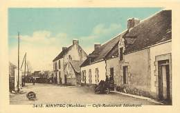 - Morbihan -ref-C935 - Riantec - Cafe Restaurant Sebastopol - Cafes - Restaurants - Carte Bon Etat - - France