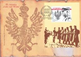 Poland 2005, 85th Vistula River Miracle, BF In FDC - Seconda Guerra Mondiale