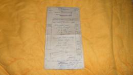 DOCUMENT DE 1953. / DOUANES FRANCAISES DIRECTION DE STRASBOURG BUREAU DE WISSEMBOURG ROUTE. / CACHETS. - Vieux Papiers