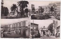 Carte Postale Ancienne,83,var,TOULON,IL Y A 50 ANS,PORT,GARE,HOTEL RESTAURANT,ARSENAL - Toulon
