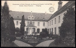 BORGLOON / LOOZ-LA-VILLE (3840) : Pensionnat Et Ecole Normale Des Soeurs De Charité - Entrée ( Enkelcirkel Borgloon ) - Borgloon