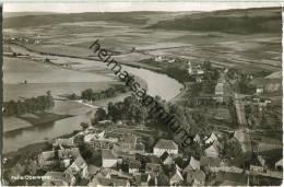 Polle - Luftaufnahme - Foto-Ansichtskarte - Allemagne