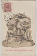 Esposizione     Internazionale  Di  Milano   1906  -  Gruppo  Simbolico  Dello  Sculptore   Butti  Davanti Al Propileo - Expositions
