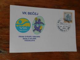 VK Becej Prvak Evrope 1999 2000 Yugoslavija
