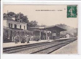 MONTGERON : La Gare - Tres Bon Etat - Montgeron