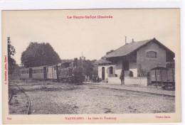 La Haute-Saône Illustrée  - Vauvillers - La Gare Du Tramway - Non Classés