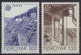 Danemark - Iles Féroé N° 143 à 144 Neufs ** - Architecture - Faroe Islands