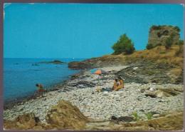 ACCIAROLI , SALERNO , TORRE CALEO , ANIMATA , VIAGGIATA 1976 - Salerno