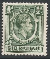 Gibraltar. 1938-51 KGVI. ½d MH. SG121 - Gibraltar