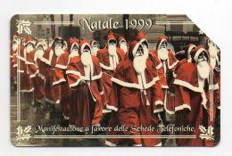 37370 - Ricarica Telefonica - Telefono Cellulare - Telephone - Phone Card - Santa Claus Babbo Natale - Schede Telefoniche