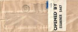 Zensur Brief  London  (Examiner 5447)           1940 - 1902-1951 (Kings)