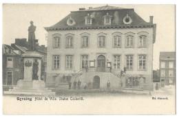SERAING (Belgique) Hotel De Ville - Statue De J. Cockerill (1790-1840) - Animée - Ed. Génard - Seraing