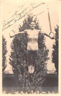 """Cliché Du Gymnaste """"A. AUGER"""" Champion De France 1942 Ayant Participé Aux Jeux-Olympique De 1936 - Anneaux - Gimnasia"""