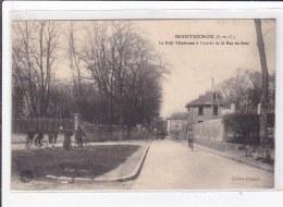 MONTGERON : Le Petit Velodrome A L'entrée De La Rue Du Bois - Tres Bon Etat - Montgeron