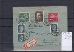 Reich Michel Cat.No. 867 MiF Reco Danzig - Briefe U. Dokumente